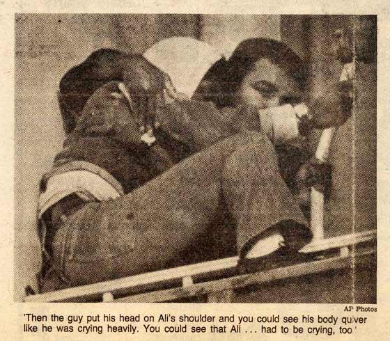 Как Мухаммед Али смог спасти юношу от суицида.